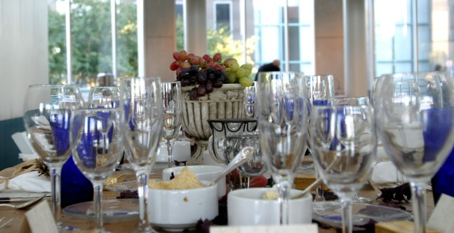 seated lunch catering
